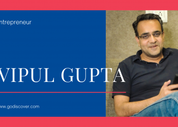Vipul Gupta founder of goDiscover